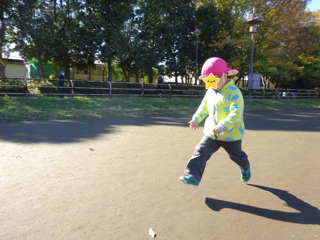 3歳児 ほし組 お散歩遠足に行ったよ!