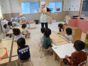 みかん組 食育活動  (2歳児)