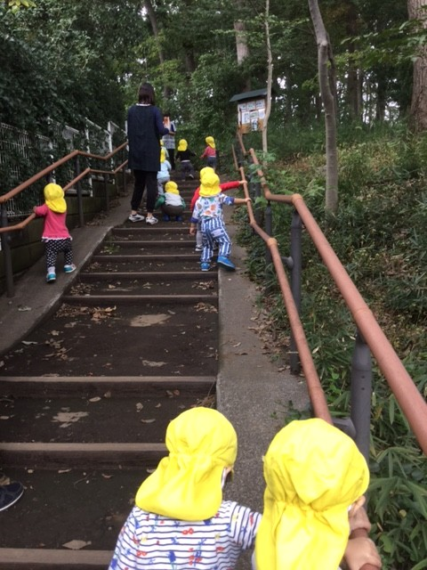 月2組 エックス山を探検したよ!(1歳児)